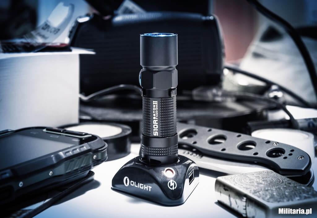 Latarka akumulatorowa Olight S10R II Baton XP-L HD SET