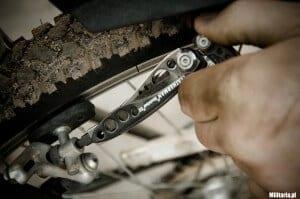Przygotowanie roweru do sezonu multitoolem Leatherman