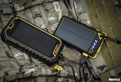Powerbank Rugged Solar i smartfon Runbo X6