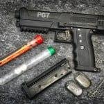Broń na kule gumowe Tippman, kule treningowe