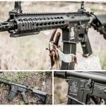 Karabinek AEG Cybergun Colt M4A1 Keymod