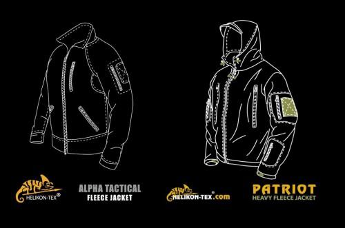 Polar taktyczny Alpha Tactical Patriot Helikon