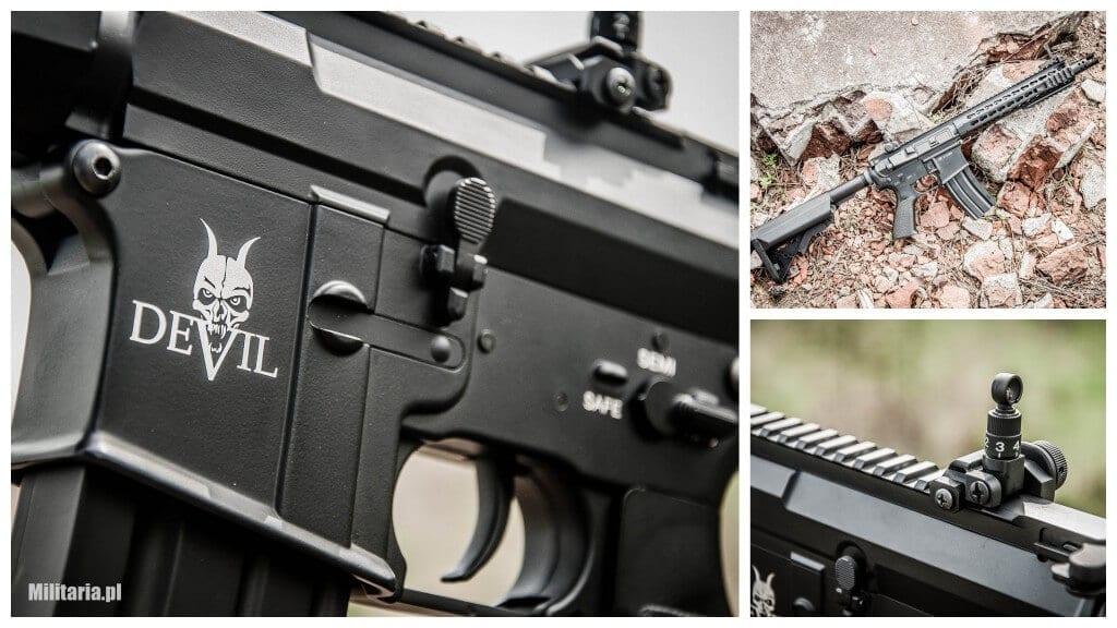 "AEG M15 Devil Carbine 10"" ASG"