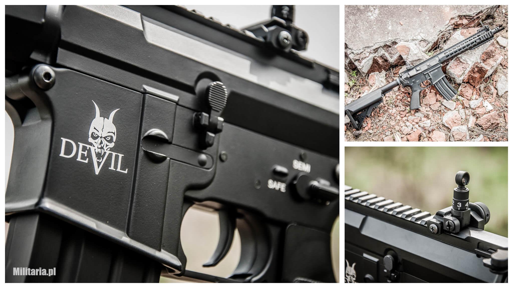 Szatański karabinek AEG M15 Devil Carbine
