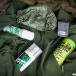 Środki na kleszcze i komary, repelenty,