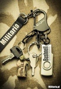 Brelok Nite Ize S-Biner KeyRack Black z kluczami