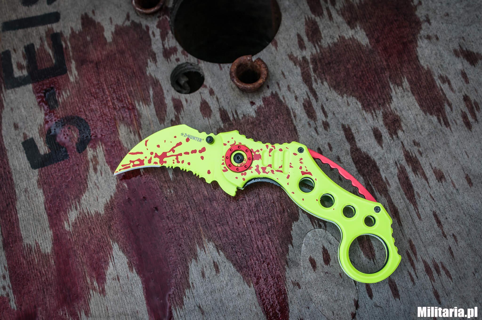 Nóż na apokalipsę zombie – Z-Hunter Master Cutlery