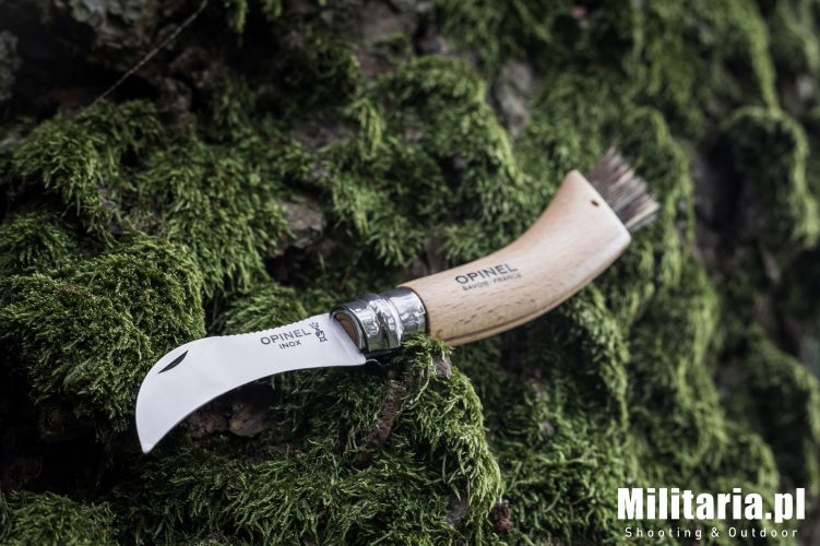 Nóż Opinel no. 8 Mushroom na grzyby