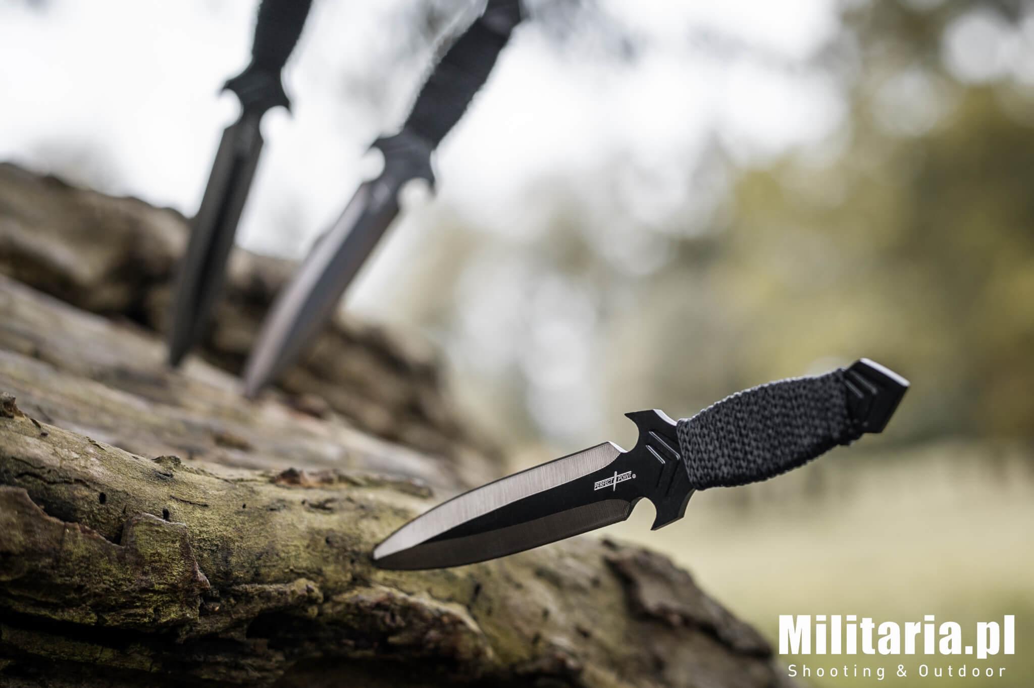 Noże do rzucania Perfect Point dla początkujących
