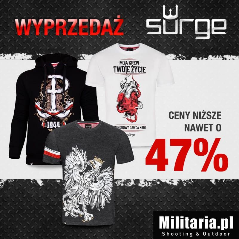 Wyprzedaż koszulek Surge Polonia!