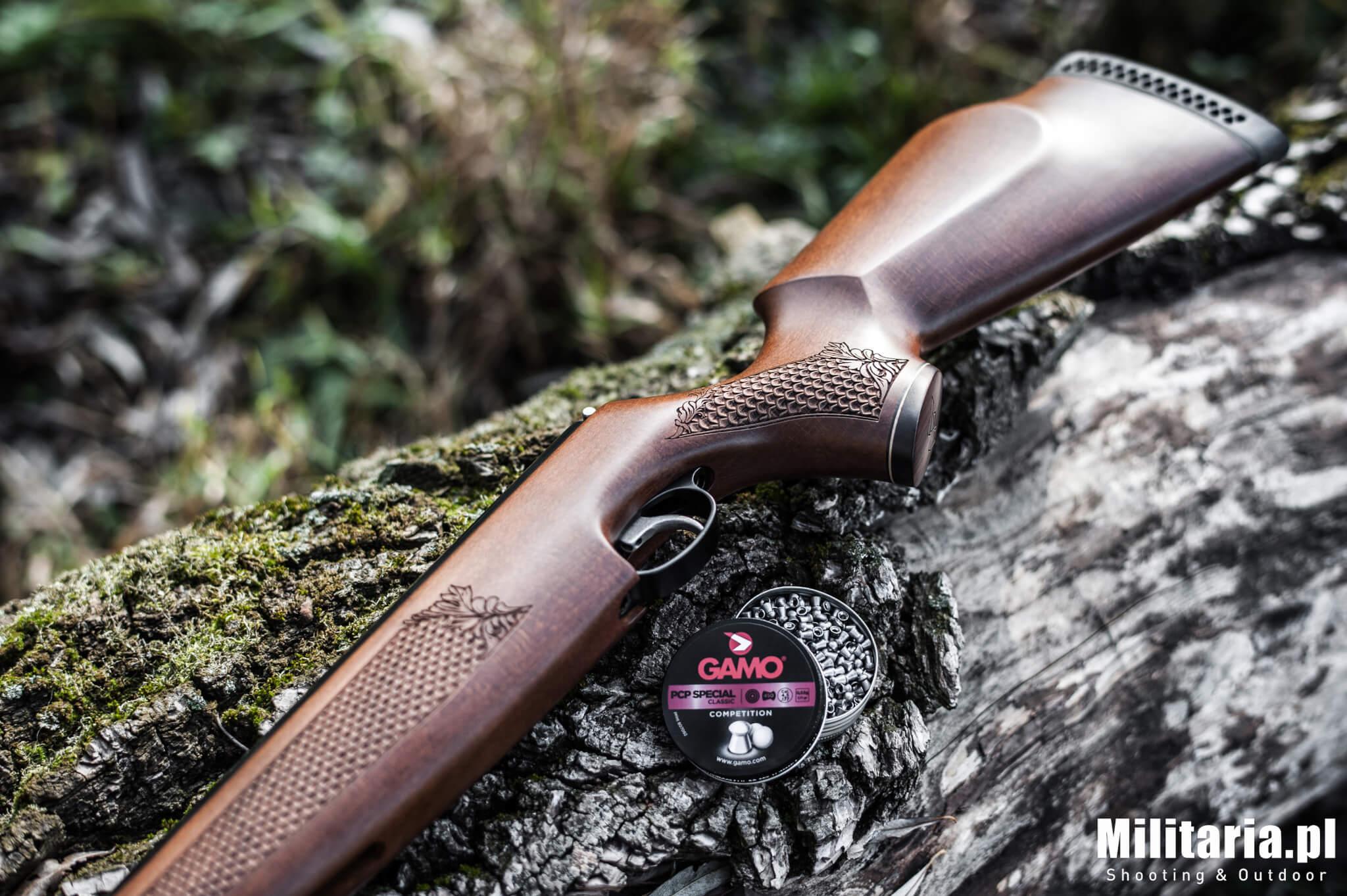 Wiatrówka Air Arms TX200 HC, czyli piękno i precyzja