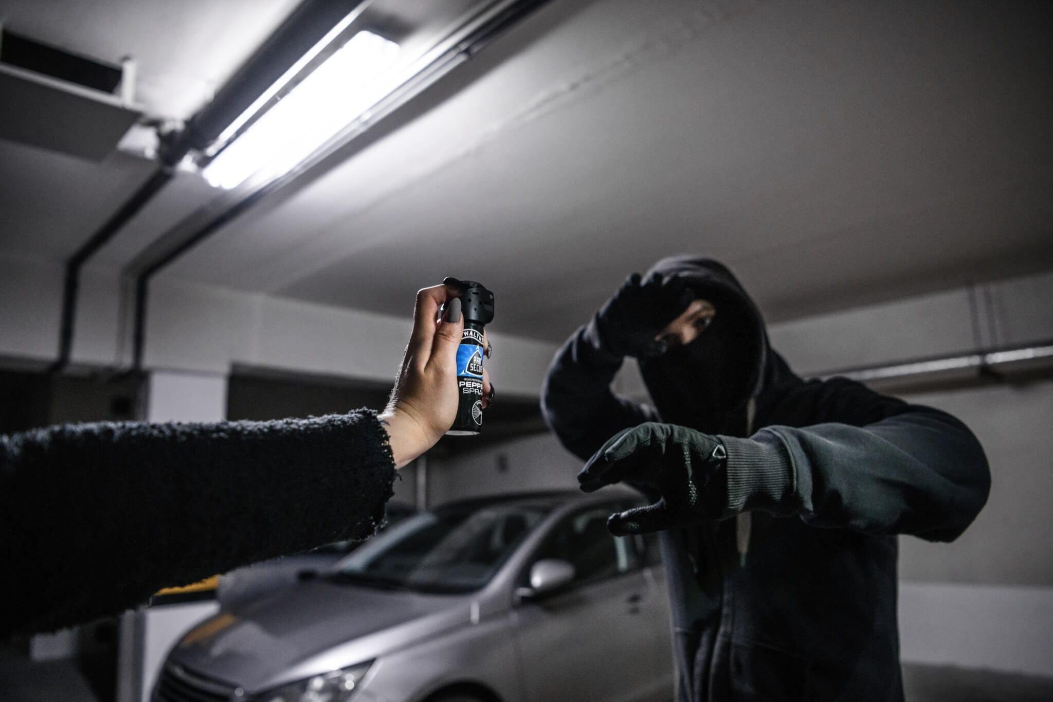 Prawo a użycie gazu do samoobrony