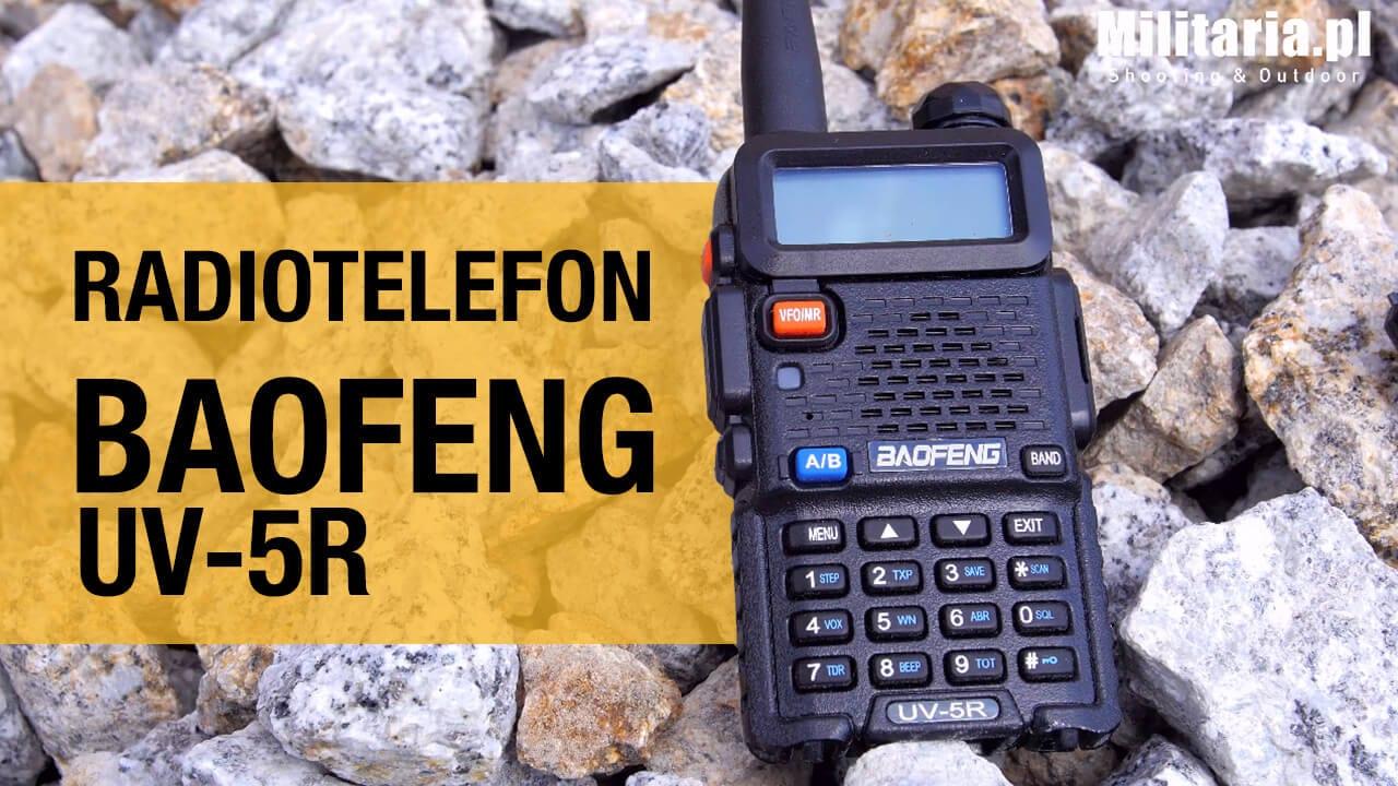 Komu przyda się radiotelefon Baofeng UV-5R?