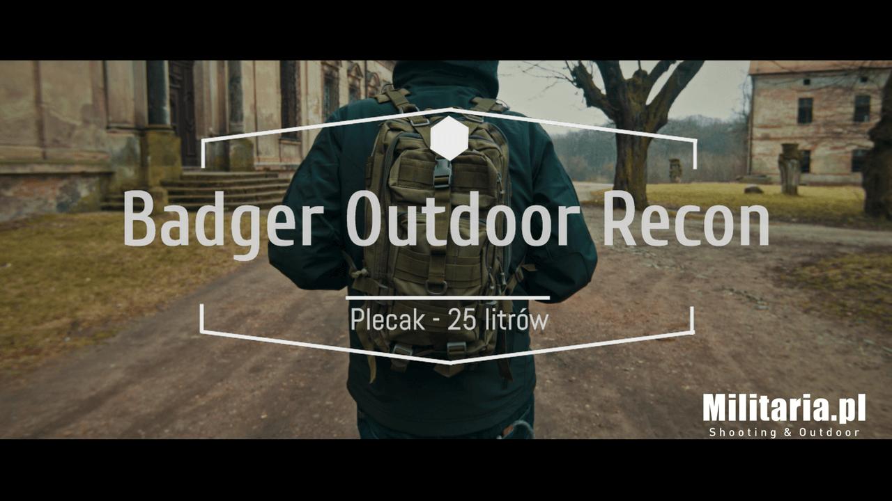 Plecaki Badger Outdoor Sarge i Recon