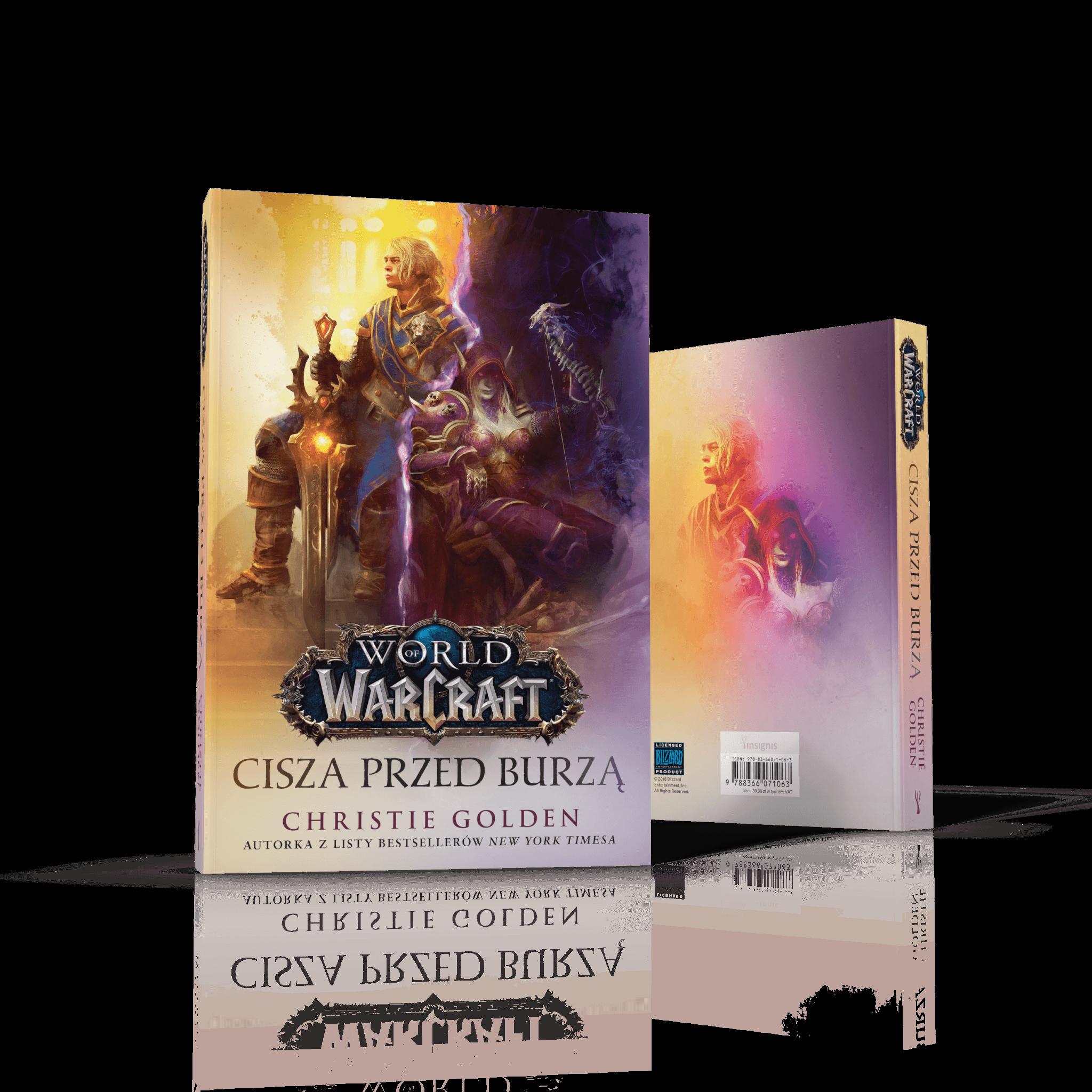 Christie Golden World of Warcraft: Cisza przed burzą – książka pod naszym patronatem