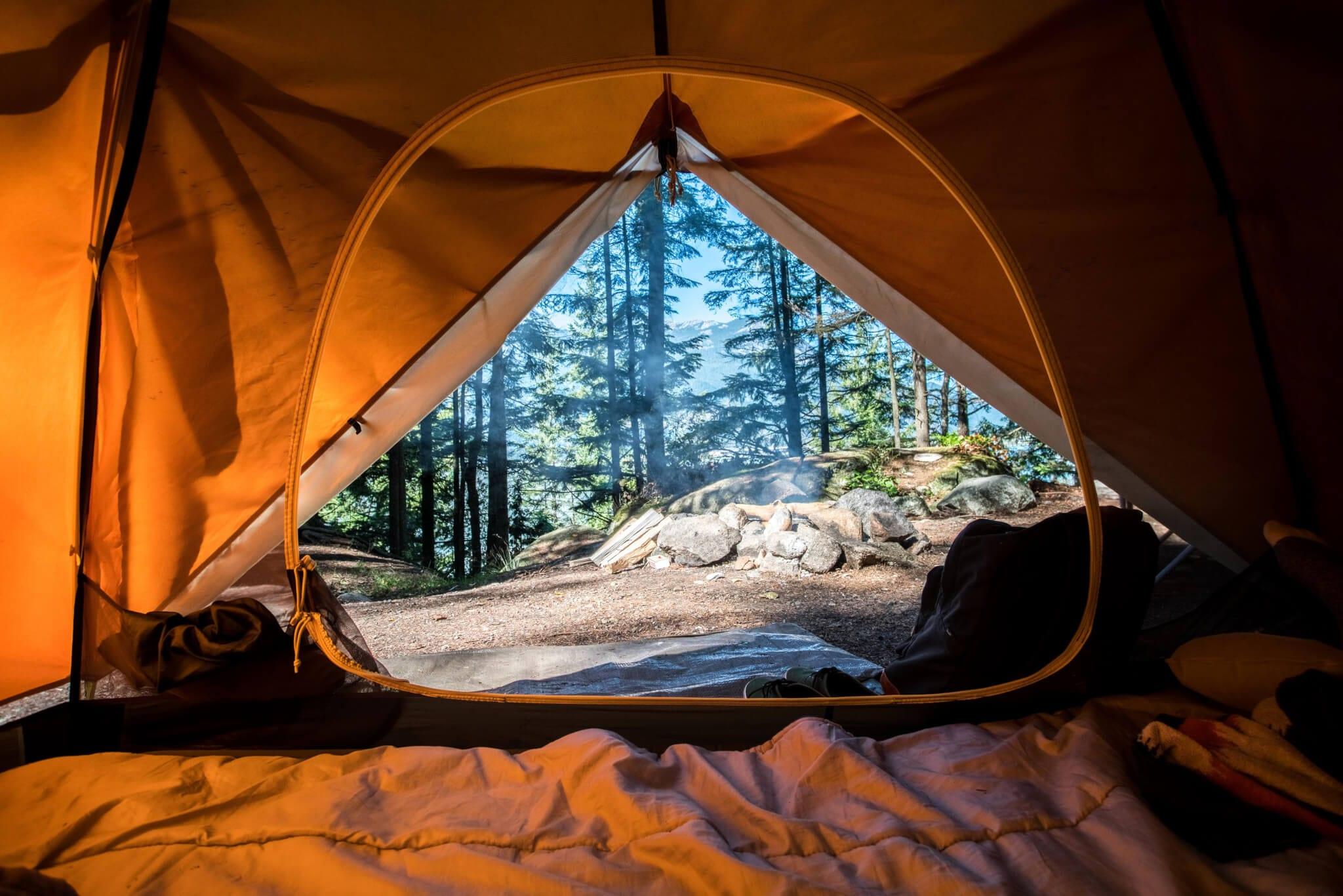 Jak wyczyścić namiot?