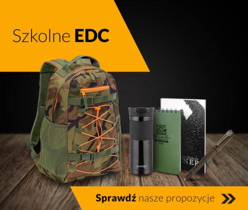szkolne EDC, sprawdź co spakować do plecaka na powrót do szkoły