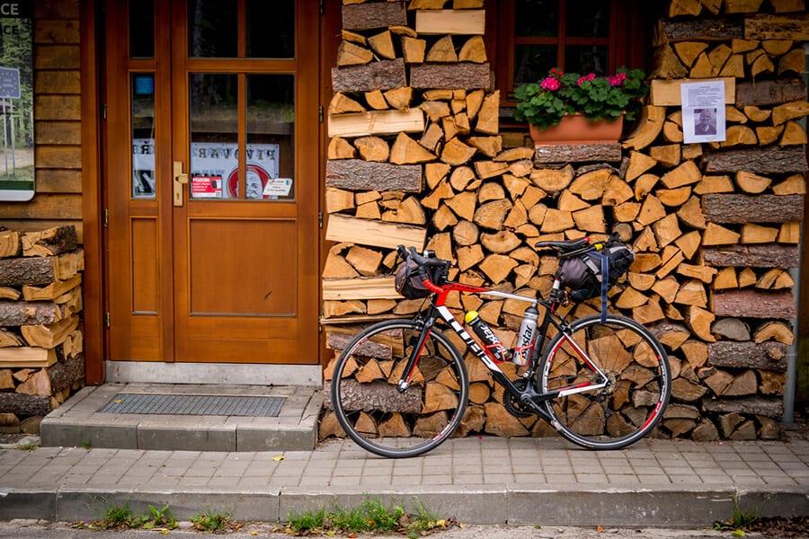 529,5 km na rowerze w dwa dni – pakowanie