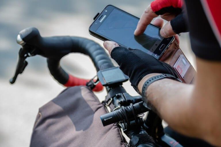529,5 km na rowerze w dwa dni sprzęt na wyprawę