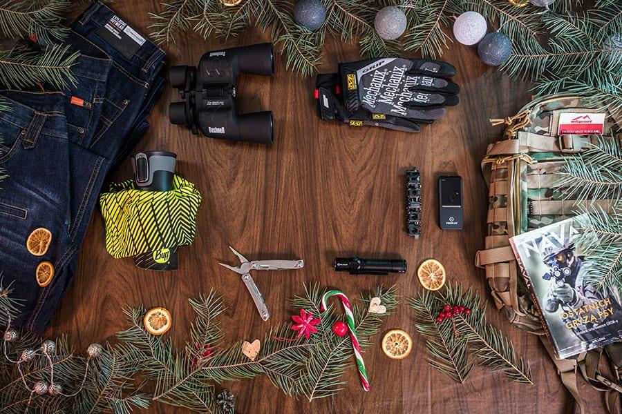 Militarny Mikołaj, czyli pomysły na prezenty w militarnym stylu