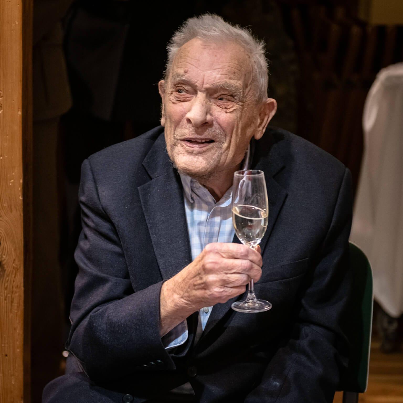 98. urodziny majora Aleksandra Tarnawskiego