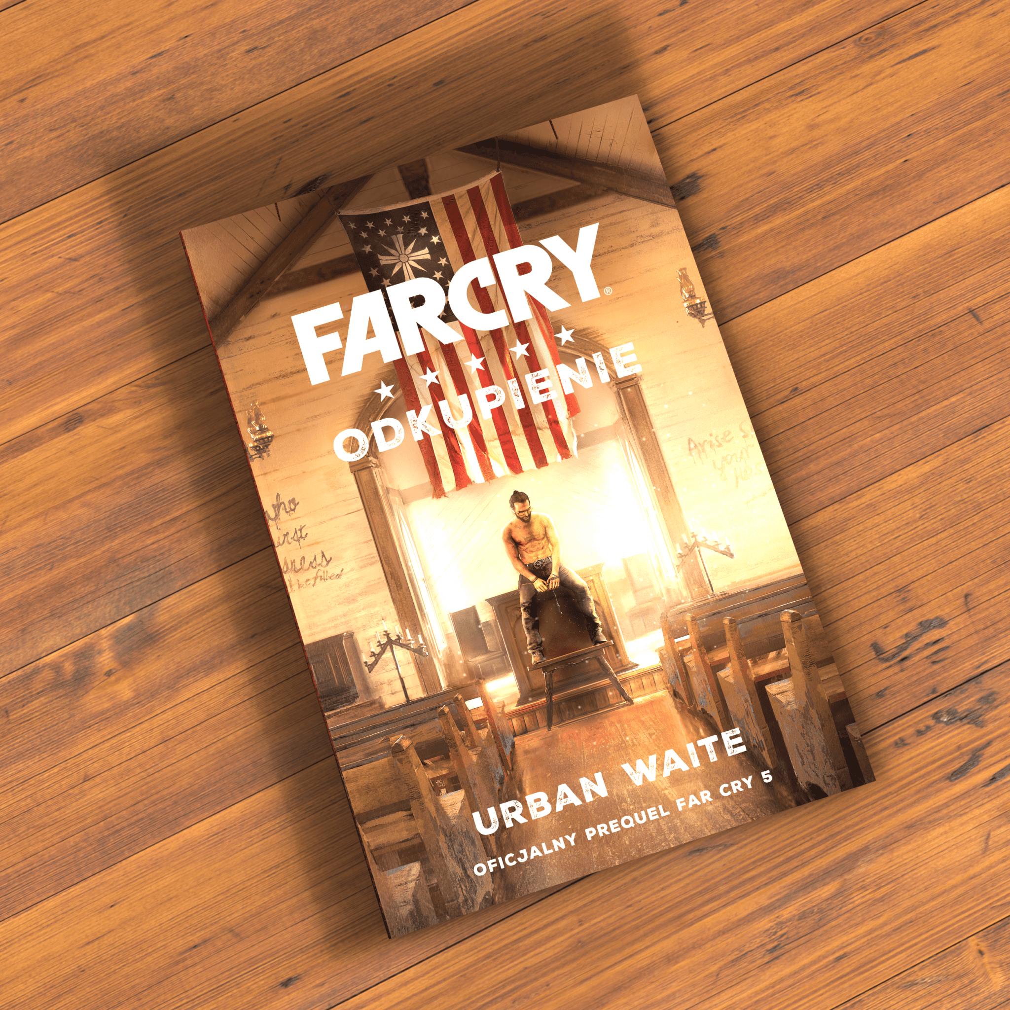 Urban Waite Far Cry. Odkupienie – książka pod naszym patronatem