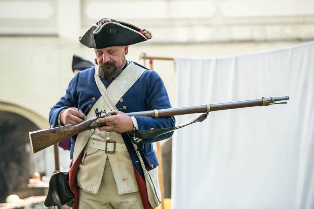 broń czarnoprochowa w rekonstrukcjach historycznych