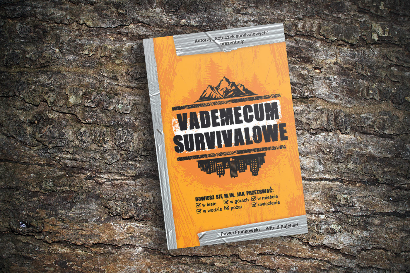 Paweł Frankowski i Witold Rajchert Vademecum survivalowe – wygraj książkę!