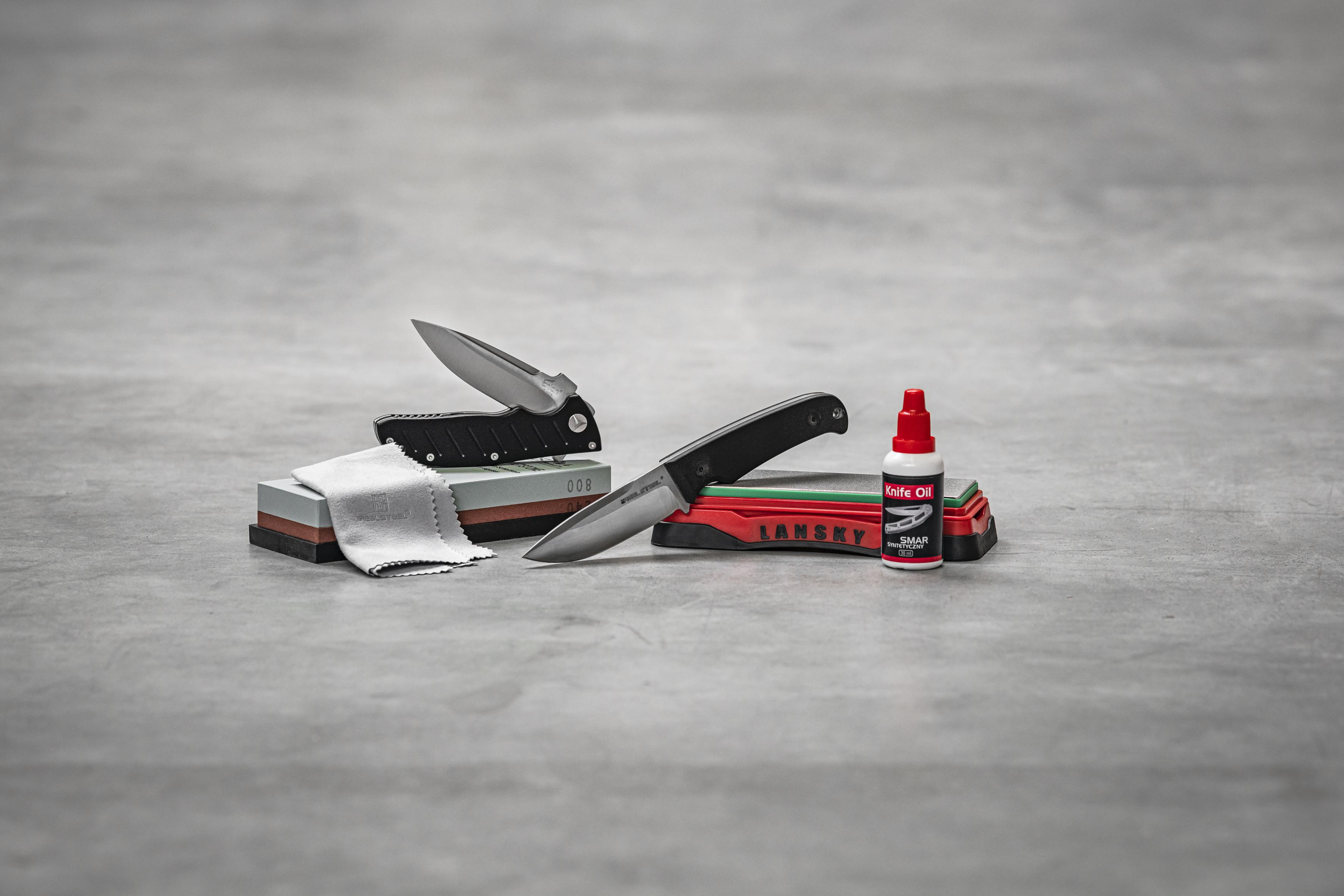 Jak dbać o nóż EDC