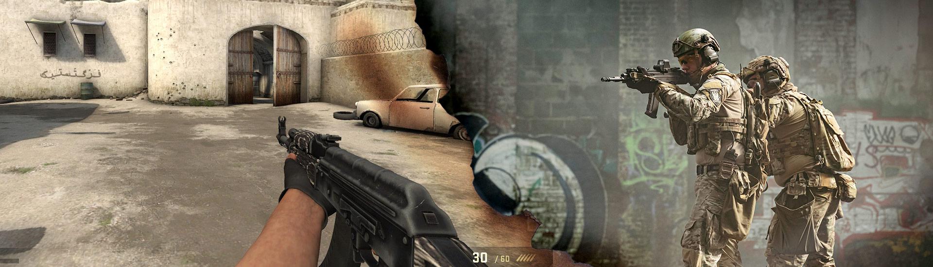 Counter Strike Global Offensive. Bronie w rzeczywistości, grze i naszym sklepie