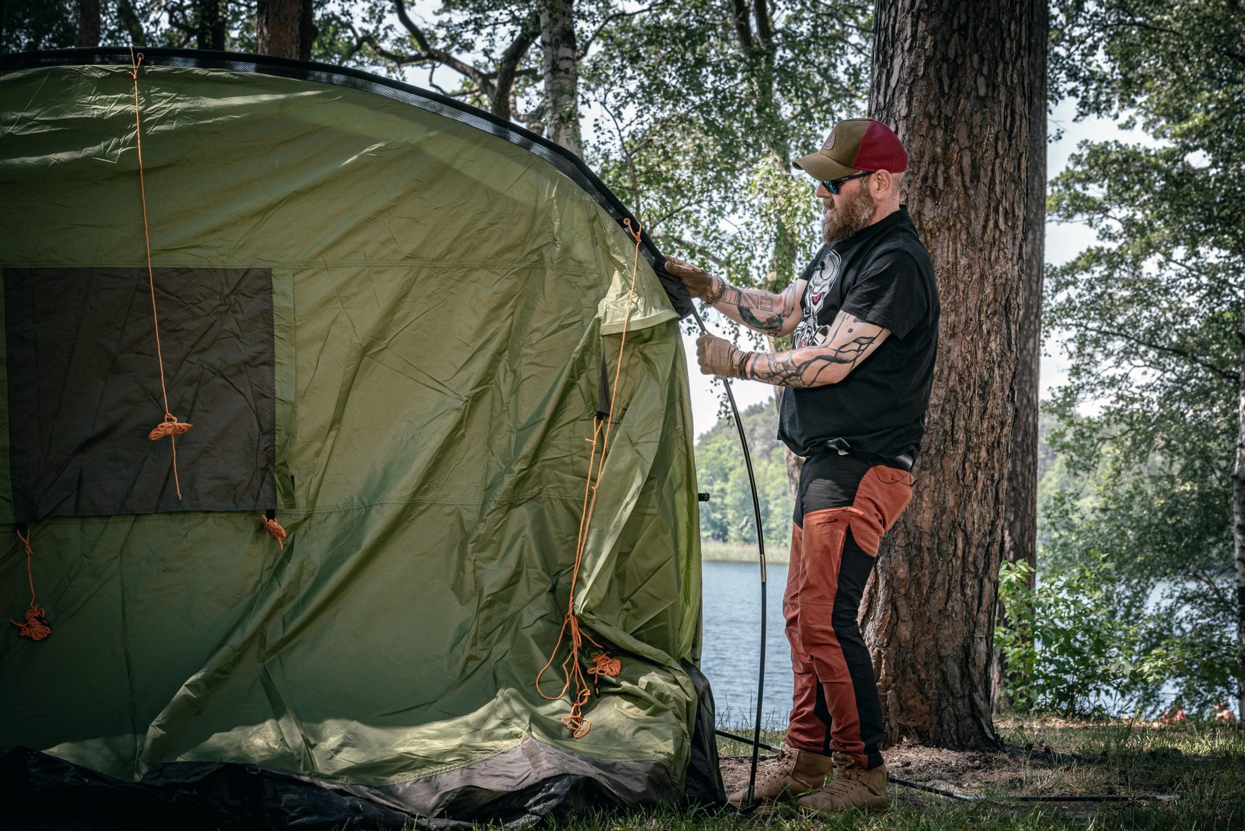 Jak rozstawiać namiot?